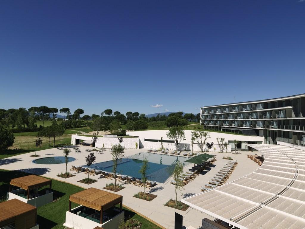 Hotel Camiral at PGA Catalunya Resort outdoor pool view