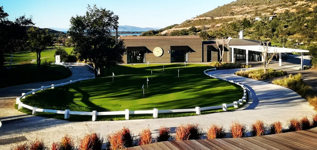 Argentario Italien Klubbhus AKI Golftravel