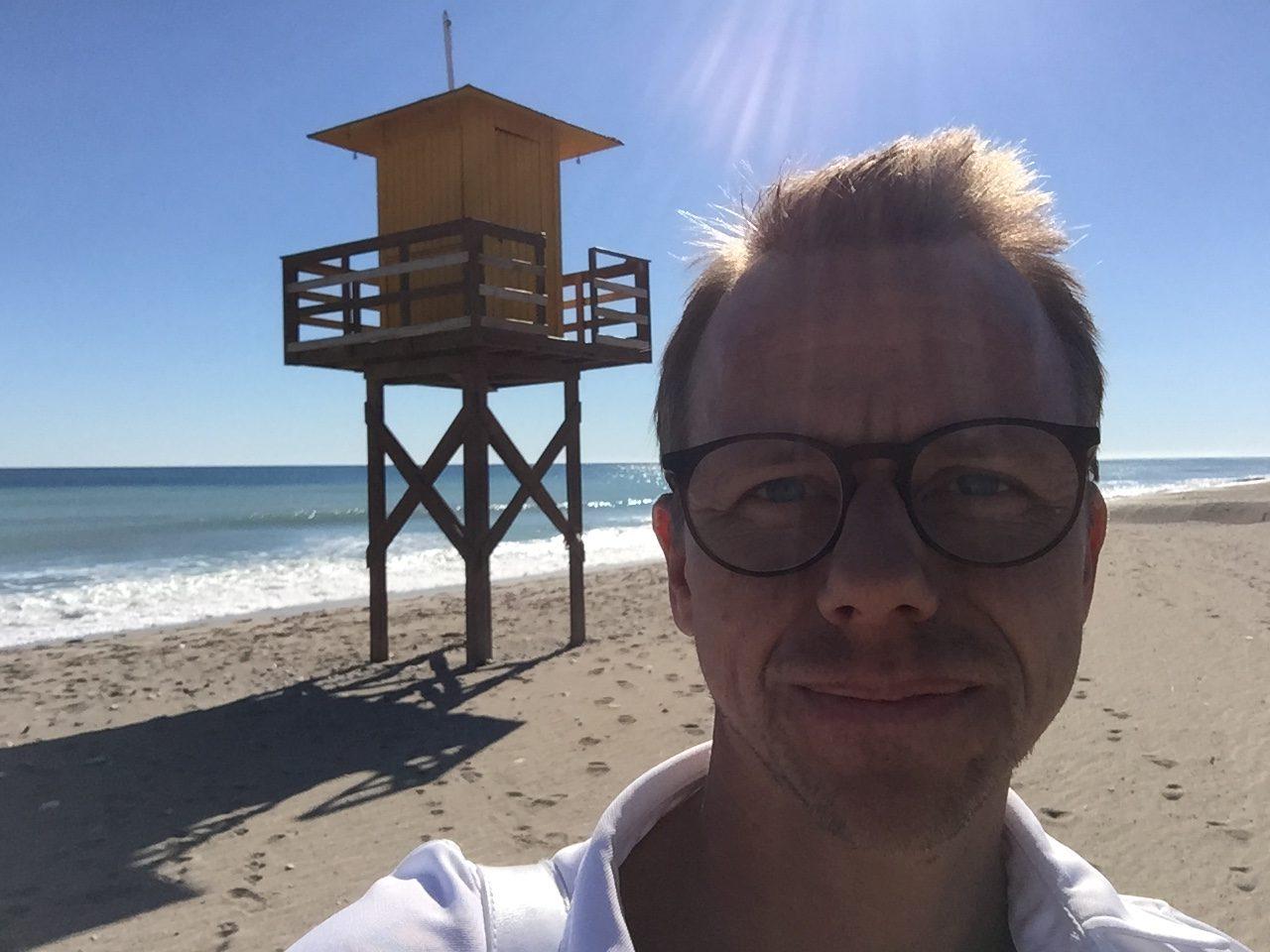 Jens på AKI Golftravel - Costa Almeria
