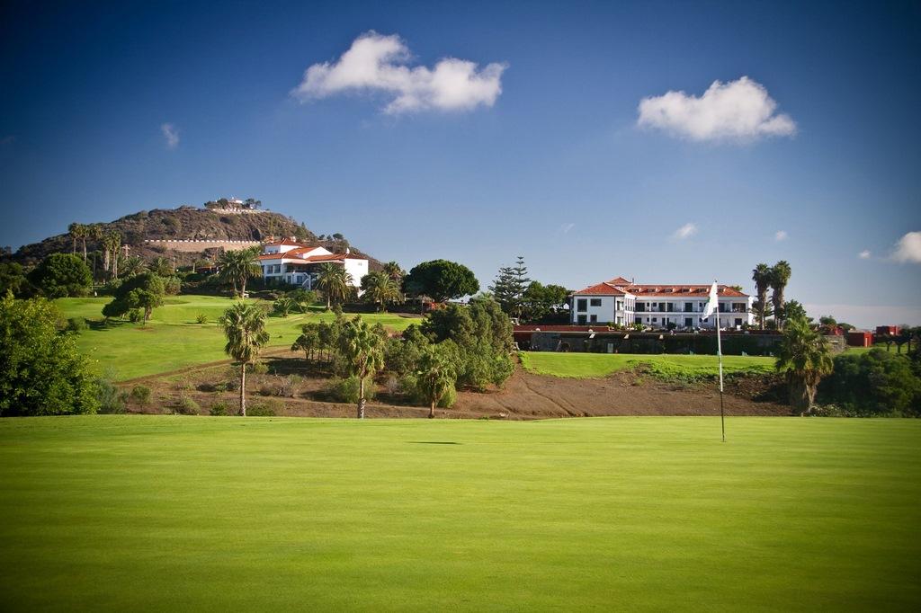 Golfresor Gran Canaria Hotel Bandama Golf vy från hål 2
